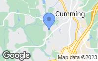 Map of Cumming, GA