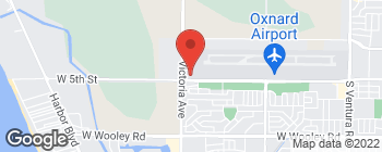 Map of 3667 W 5th St in Oxnard