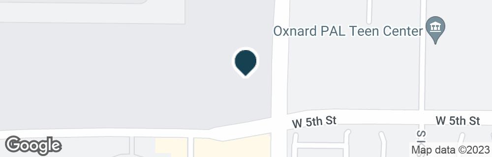Google Map of481 S VENTURA RD