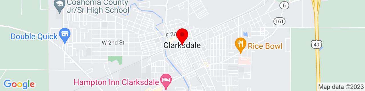 Google Map of 34.2, -90.57083333333333