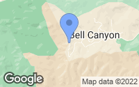 Map of Bell Canyon, CA
