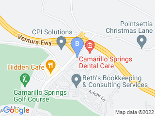Map of A DOGS LIFE Dog Walking and Pet Sitting Dog Boarding options in Camarillo | Boarding