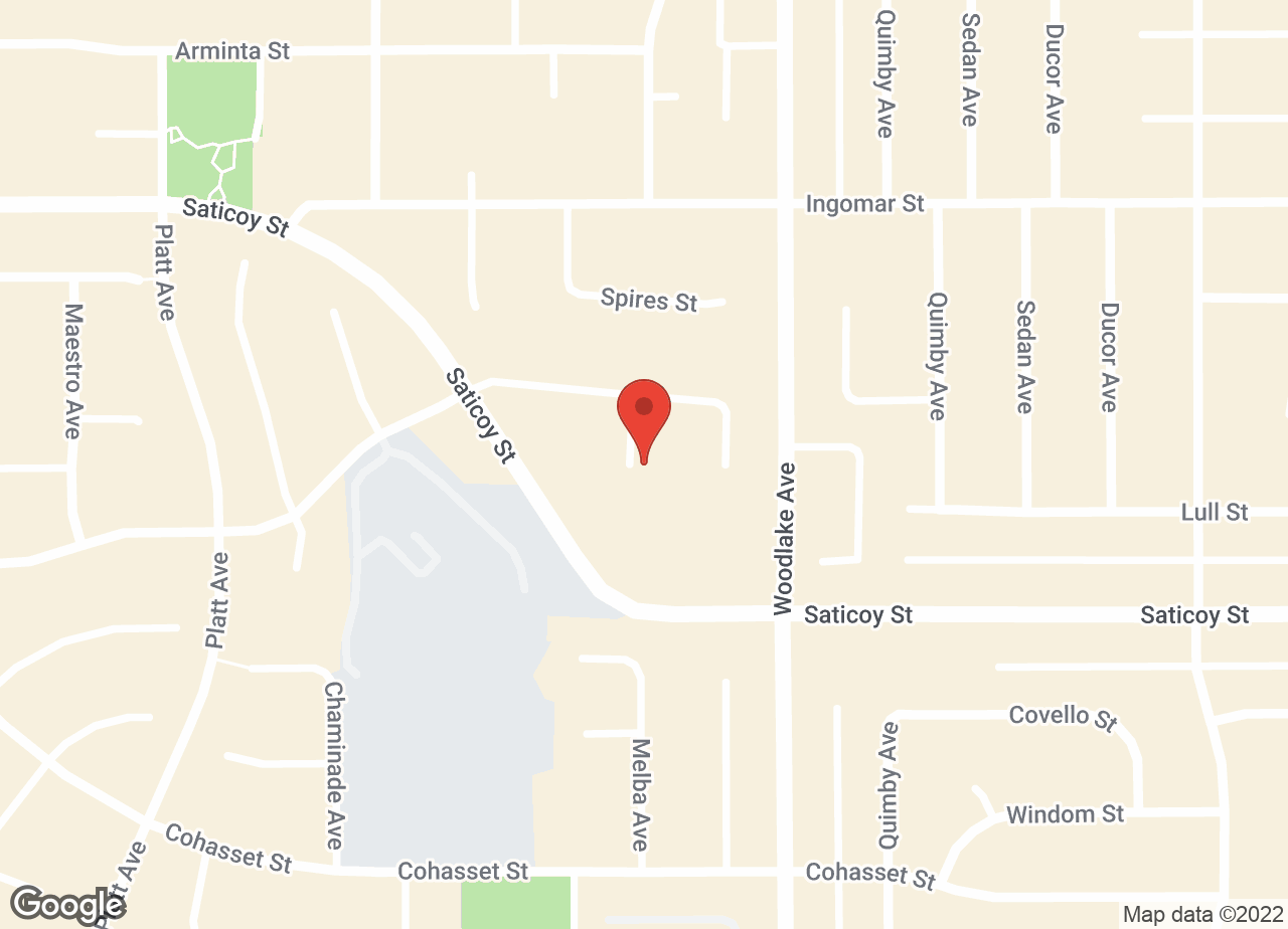Google Map of VCA Parkwood Animal Hospital