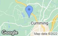 Map of Cumming, GA