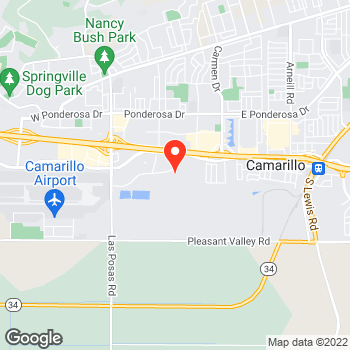 Map of Cole Haan Outlet at 910 Camarillo Center Drive, Camarillo, CA 93010