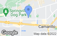 Map of Camarillo, CA
