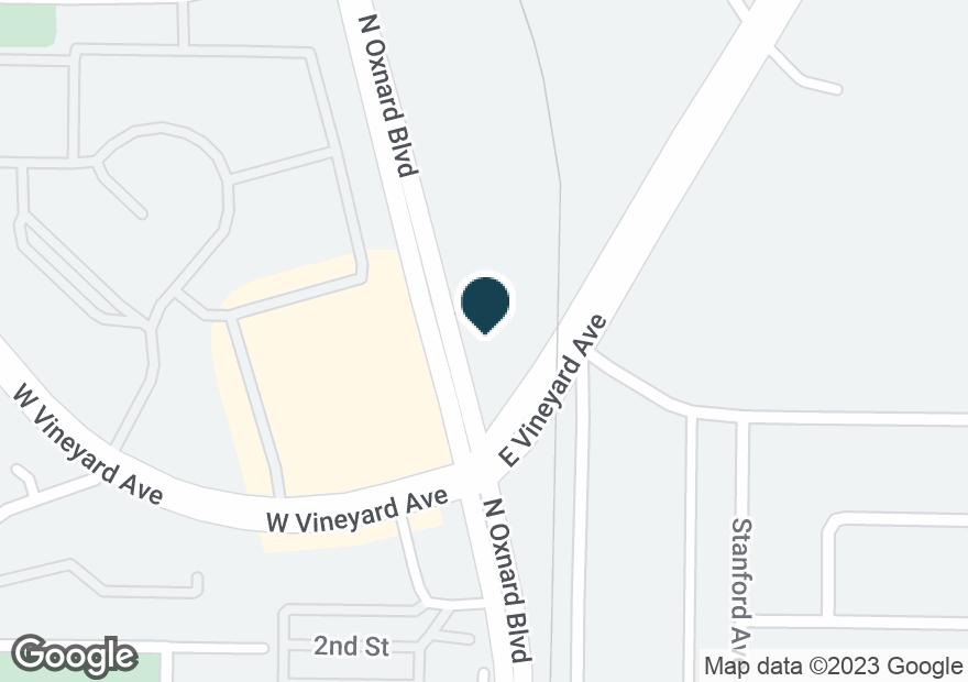 Google Map of2303 E VINEYARD AVE