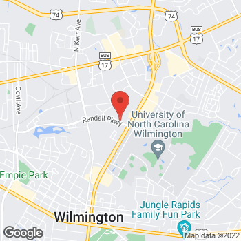 Map of State Employees' Credit Union at 5011 Randall Pkway, Wilmington, NC 28403