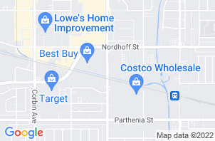 Northridge Mattress Store Location Map