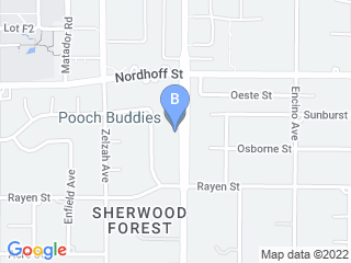 Map of Pooch Buddies Dog Boarding options in Northridge | Boarding