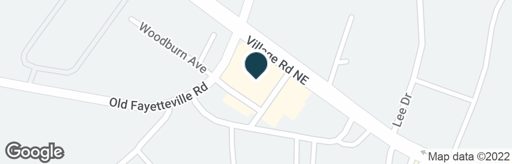Google Map of319 VILLAGE RD NE
