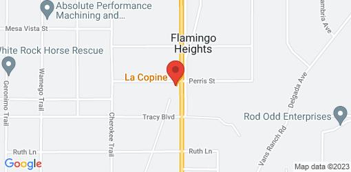 Directions to La Copine