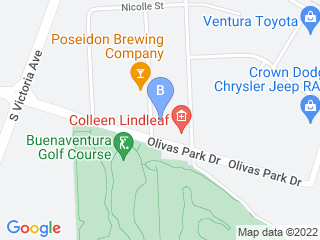 Map of Doggins Around Dog Boarding options in Ventura | Boarding