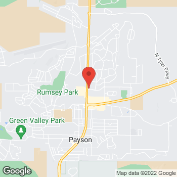 Map of Verizon Authorized Retailer, TCC at 401 N Beeline Hwy, Payson, AZ 85541