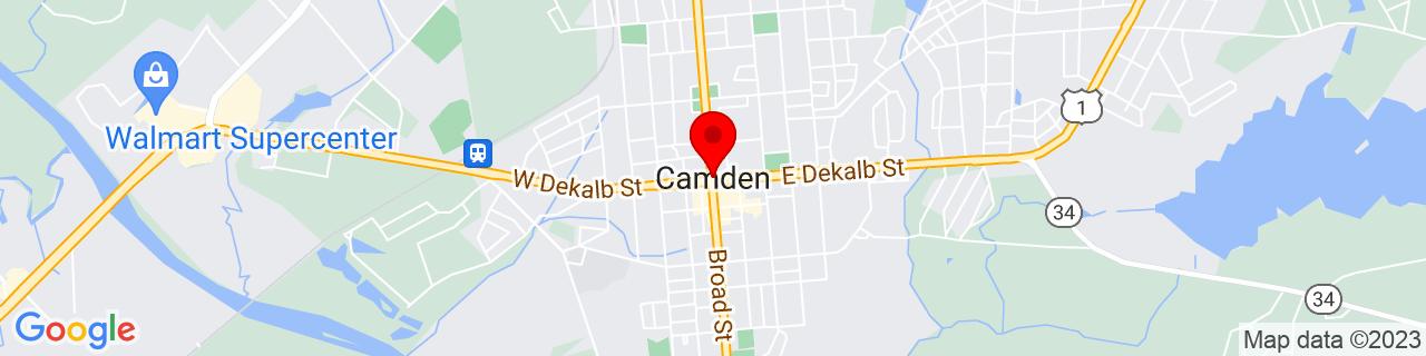 Google Map of 34.24653929999999, -80.6070237