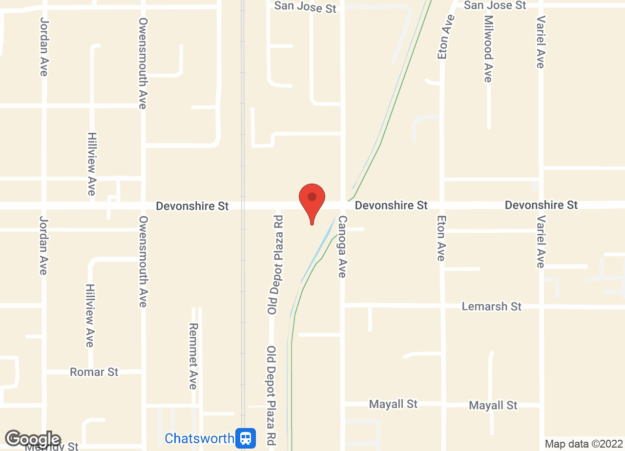 Google Map of VCA Chatsworth Veterinary Center