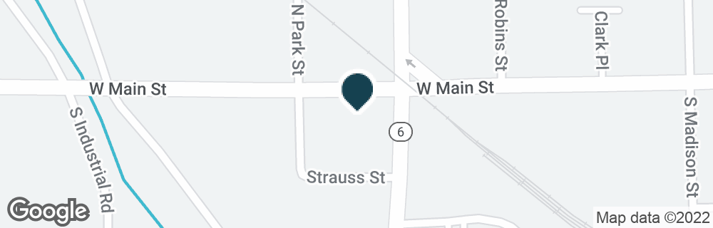 Google Map of817 W MAIN ST