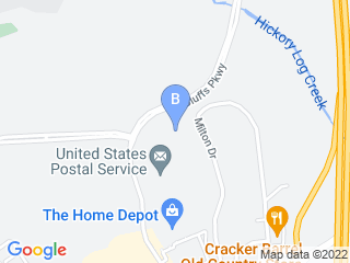 Map of Riverstone Animal Hospital Dog Boarding options in Canton | Boarding