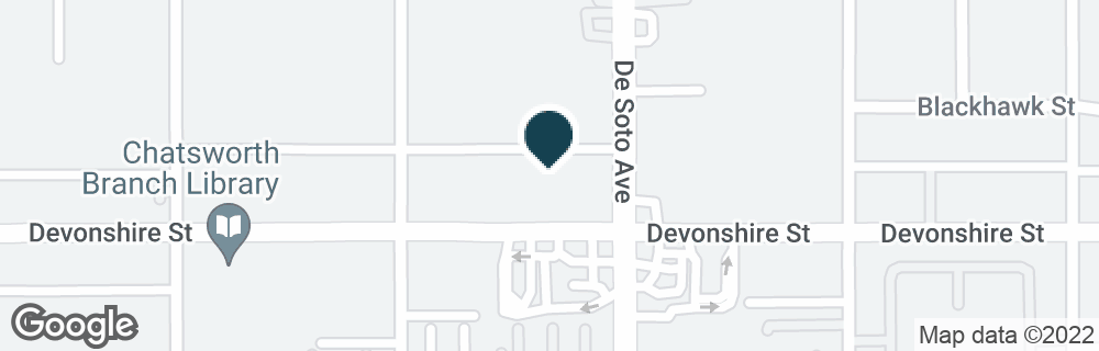 Google Map of20901 DEVONSHIRE ST