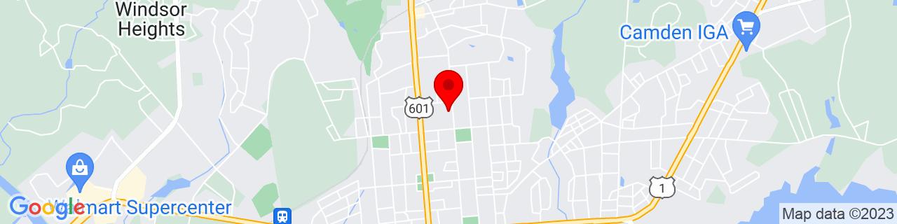 Google Map of 34.2587874, -80.604839