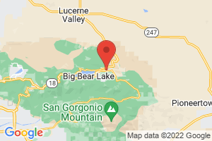 Map of Big Bear Lake Region