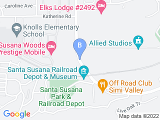Map of Stephs Happy Dogs Dog Boarding options in Simi Valley | Boarding