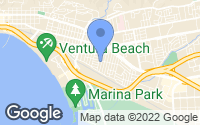 Map of Ventura, CA
