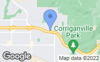 Map of Simi Valley, CA