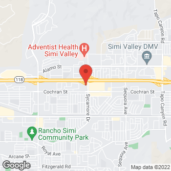 Map of Check `n Go at 2549 North Sycamore Drive, Simi Valley, CA 93065