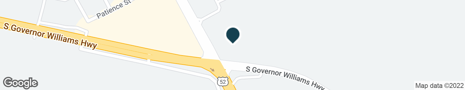 Google Map of1005 S GOVERNOR WILLIAMS HWY