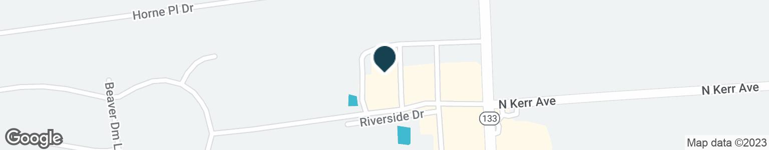 Google Map of2601 CASTLE HAYNE RD