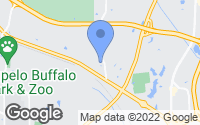 Map of Tupelo, MS