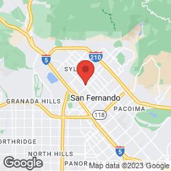 Sylmar/San Fernando Station on the map