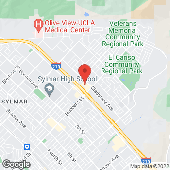 Map of Check `n Go Gladstone Ave. at 13225 Gladstone Ave., Sylmar, CA 91342