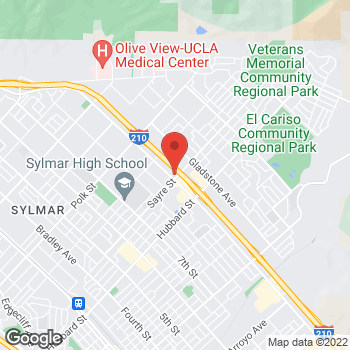 Map of Rite Aid at 13803 Foothill Blvd, Sylmar, CA 91342