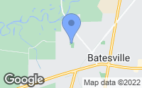 Map of Batesville, MS