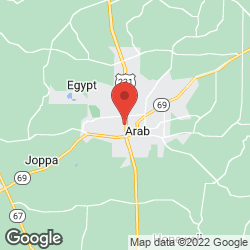 Arab Fire Department on the map