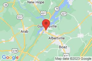 Map of Guntersville