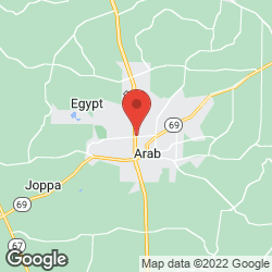 Quality Inn Arab on the map