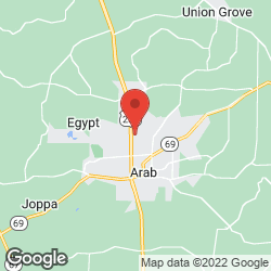 Marshall Surgical Clinic Arab Office on the map
