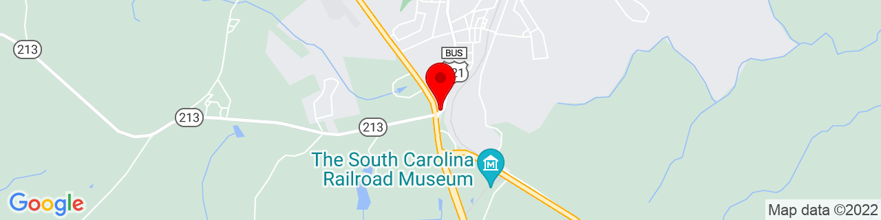 Google Map of 34.3473687, -81.0873113