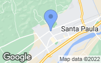 Map of Santa Paula, CA