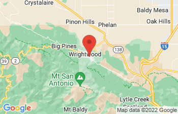 Map of Wrightwood