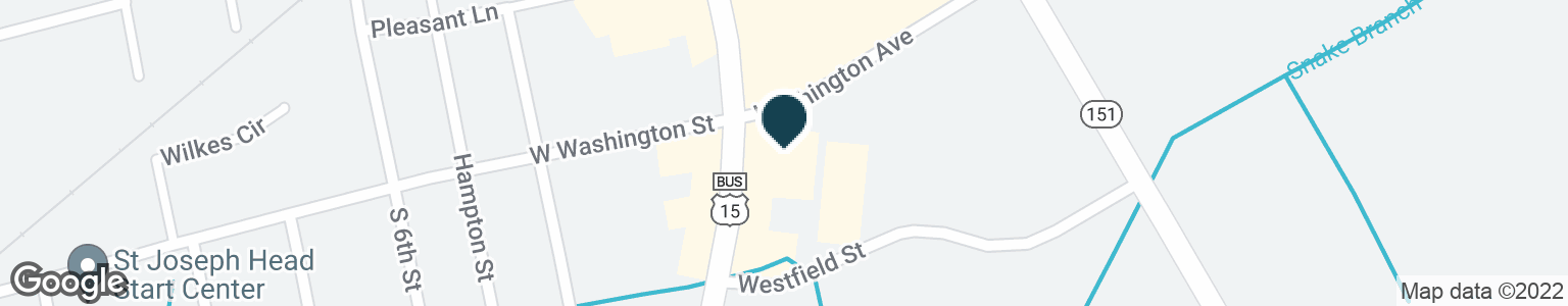 Google Map of901 S 5TH ST