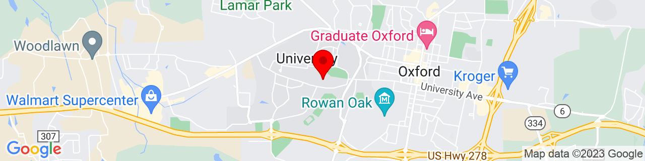 Google Map of 34.3647557, -89.5352407