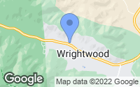 Map of Wrightwood, CA