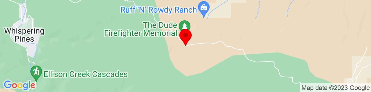 Google Map of 34.3683284, -111.2357205