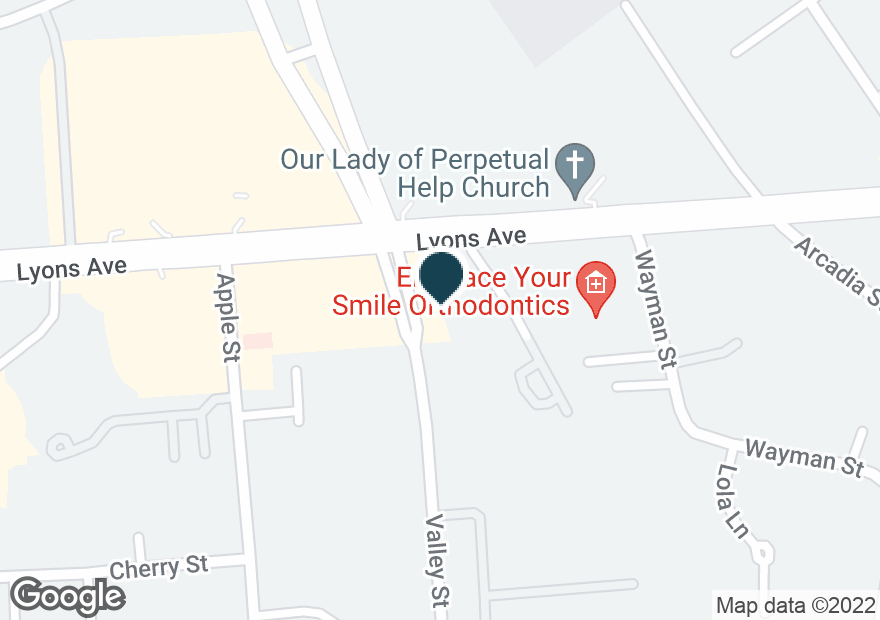Google Map of24790 VALLEY ST