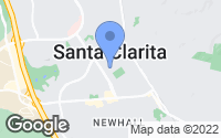 Map of Santa Clarita, CA