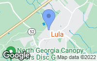 Map of Lula, GA